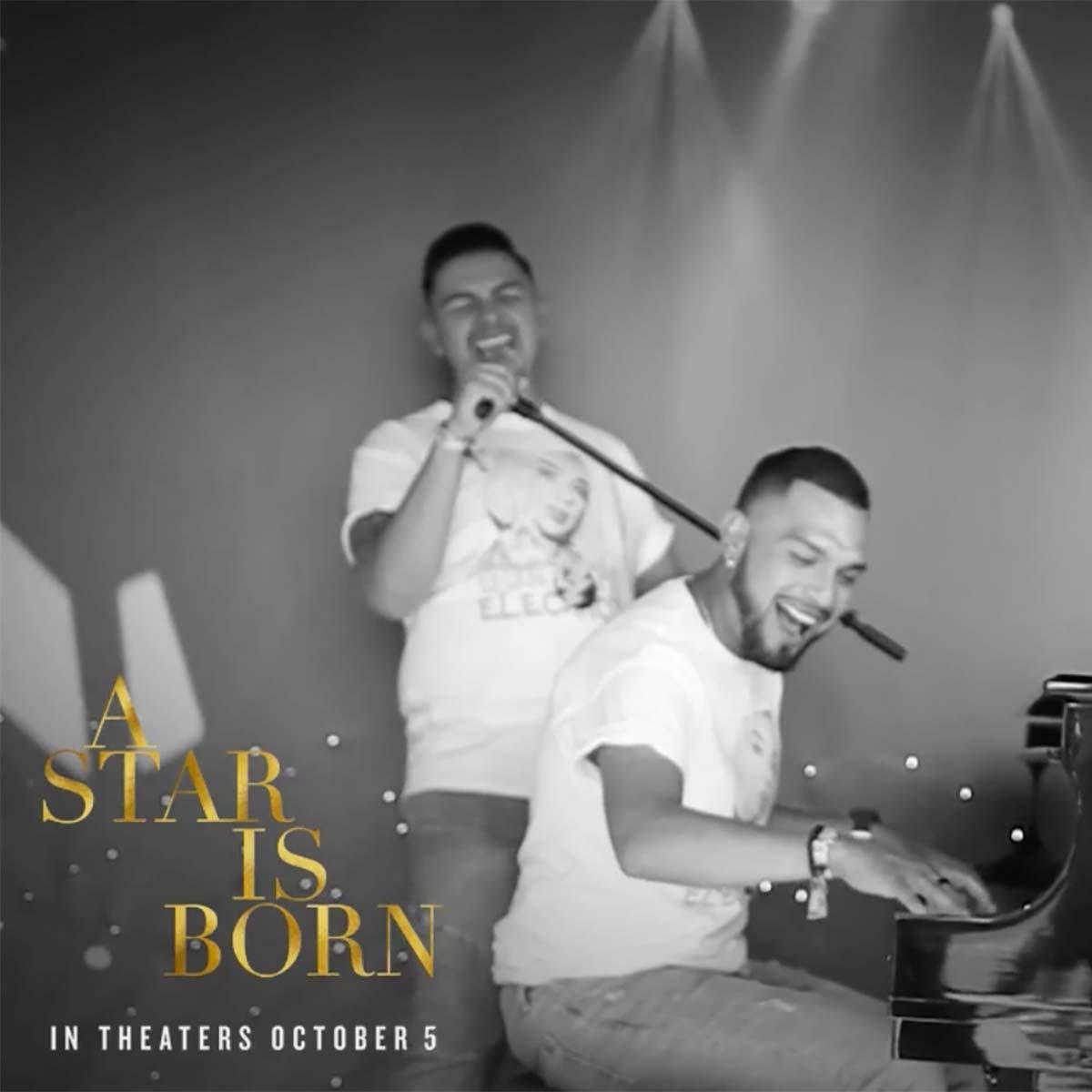 star is born heart radio booth