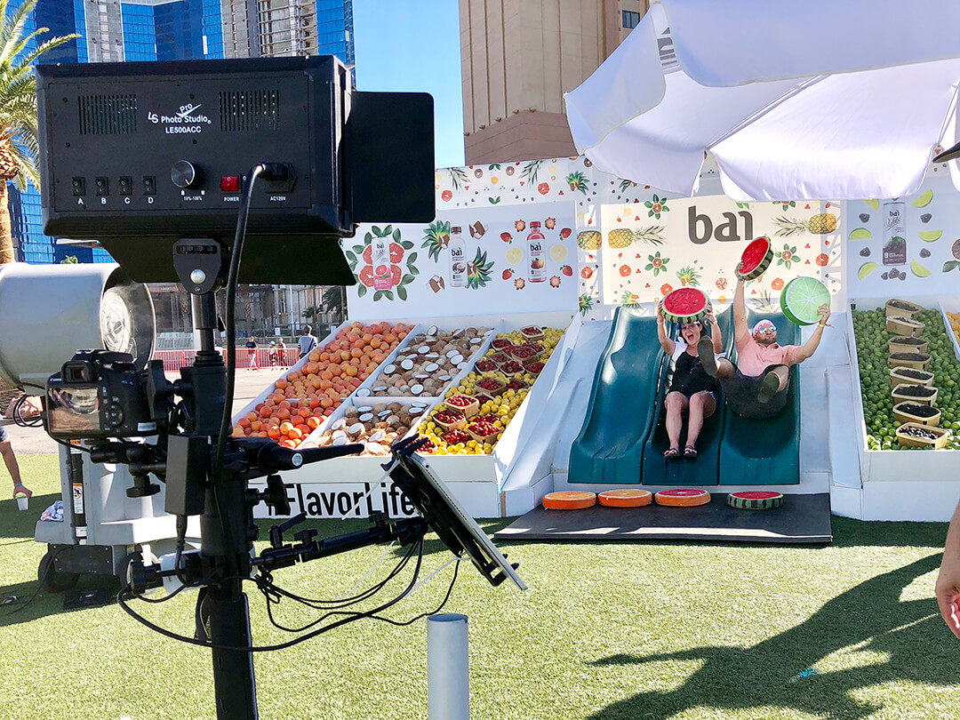 Bai Boomerang Booth at iHeartRadio Festival