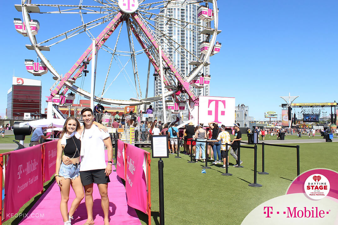 T-Mobile Ferris Wheel Photo-Op